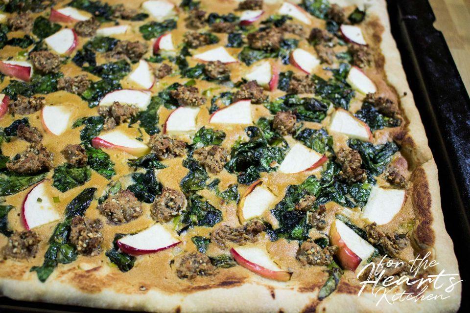 Pizza Gorgonzola-Style