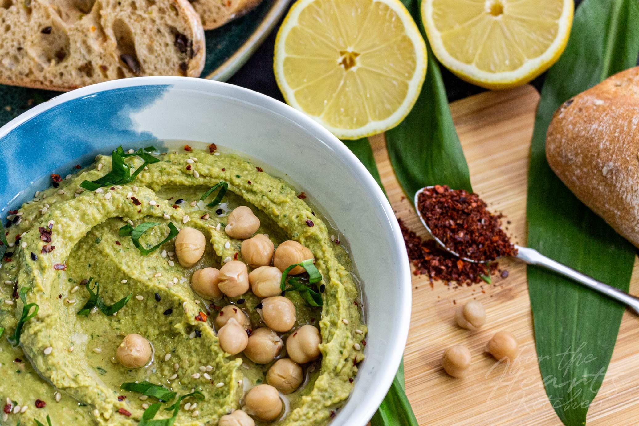 Bärlauch Hummus