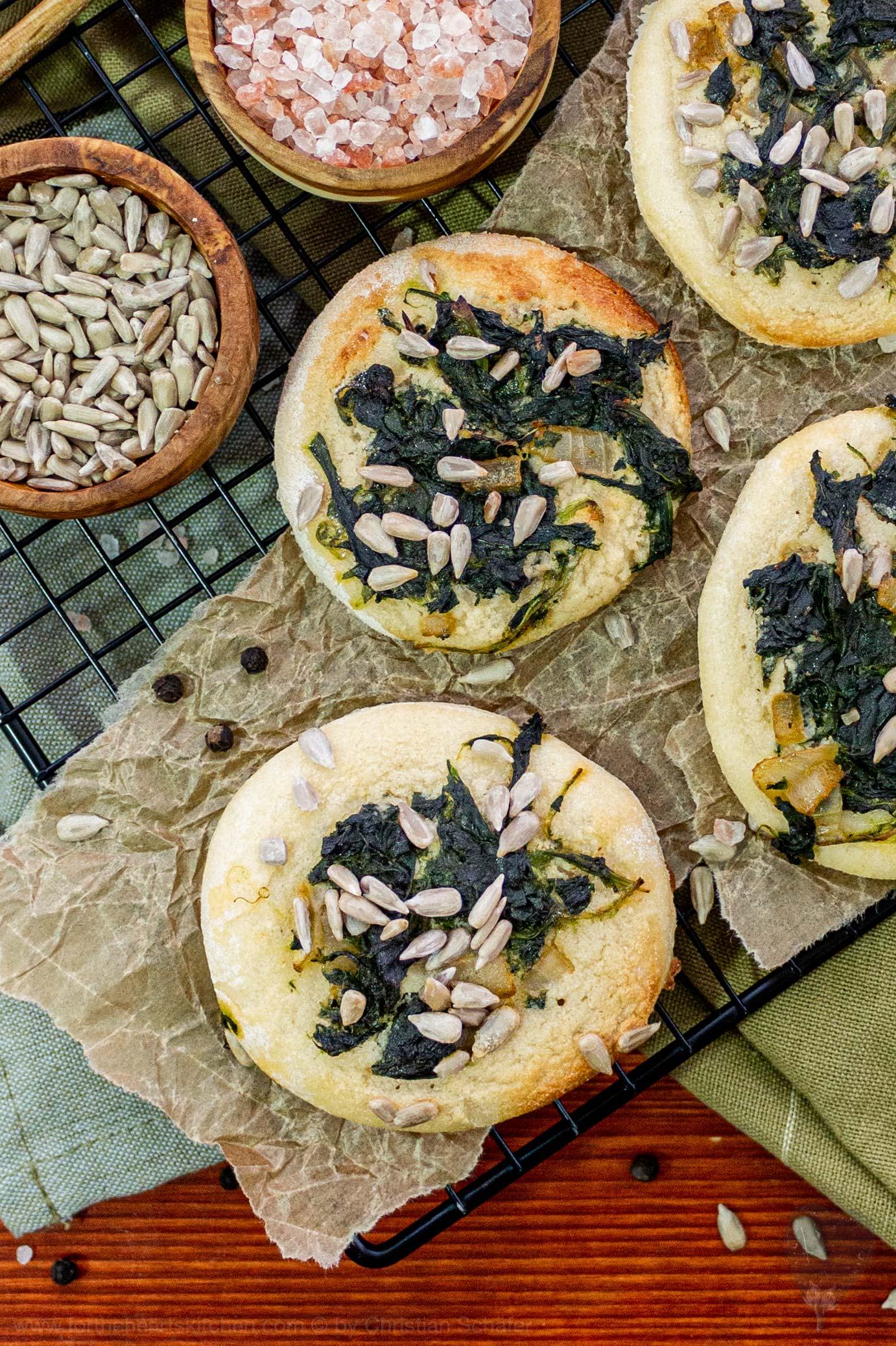 Creamy Spinach Piccolinis